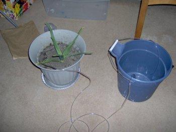 Автоматическая система для поливки растений