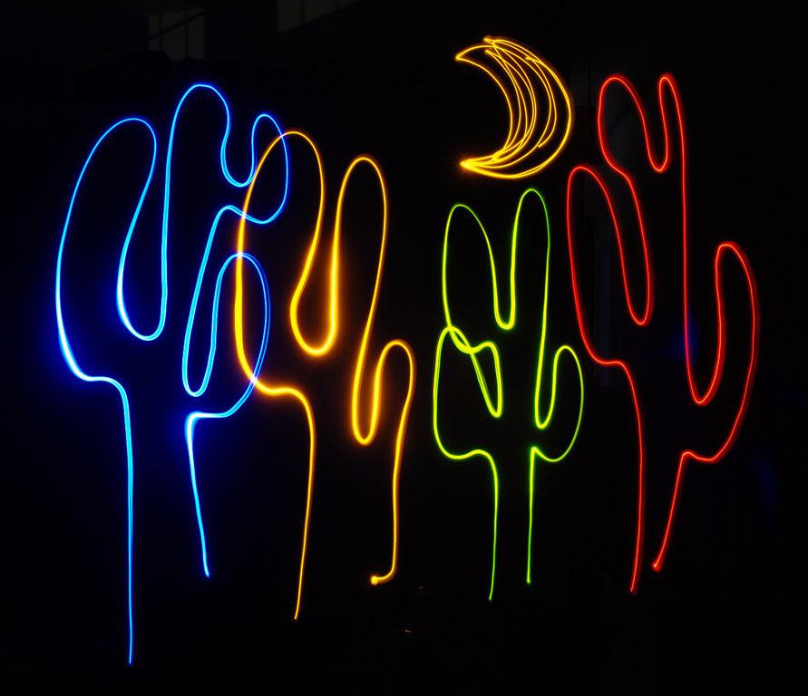 Как сделать световую ручку