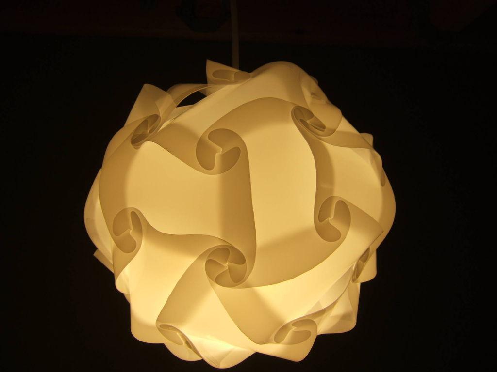Как сделать декоративный абажур