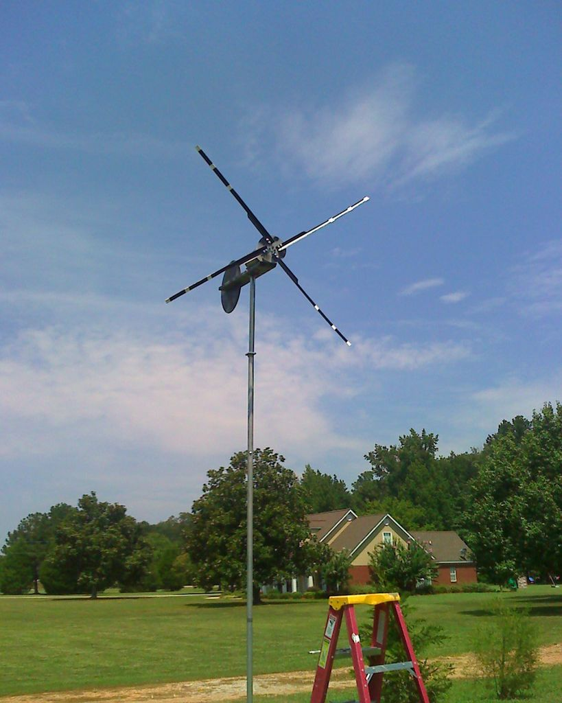 Небольшой ветряной генератор своими руками
