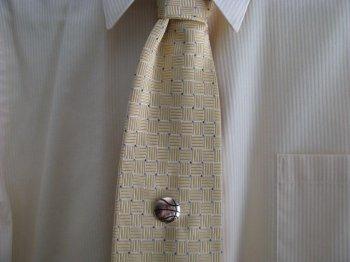 Зажим для галстука своими руками