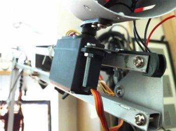 Модернизированная лампа-робот из IKEA
