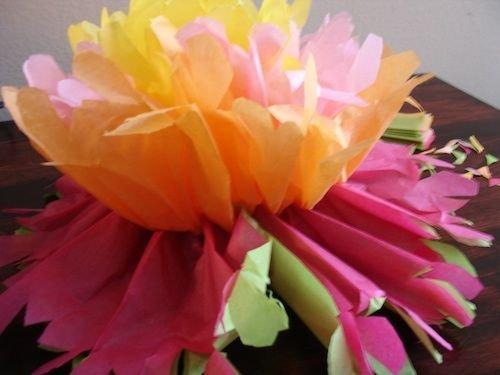Мексиканские цветы своими руками