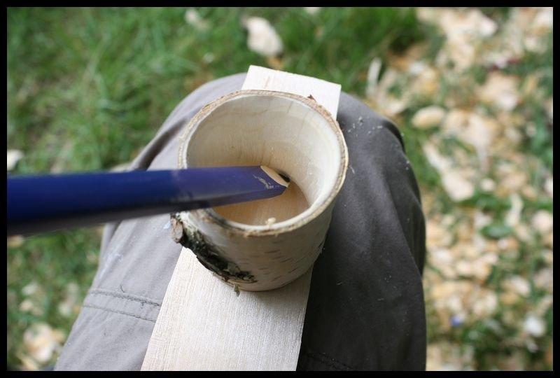 Деревянная чашка своими руками