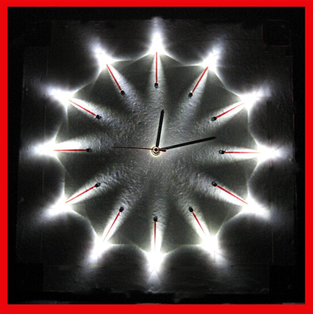 Светящиеся часы своими руками