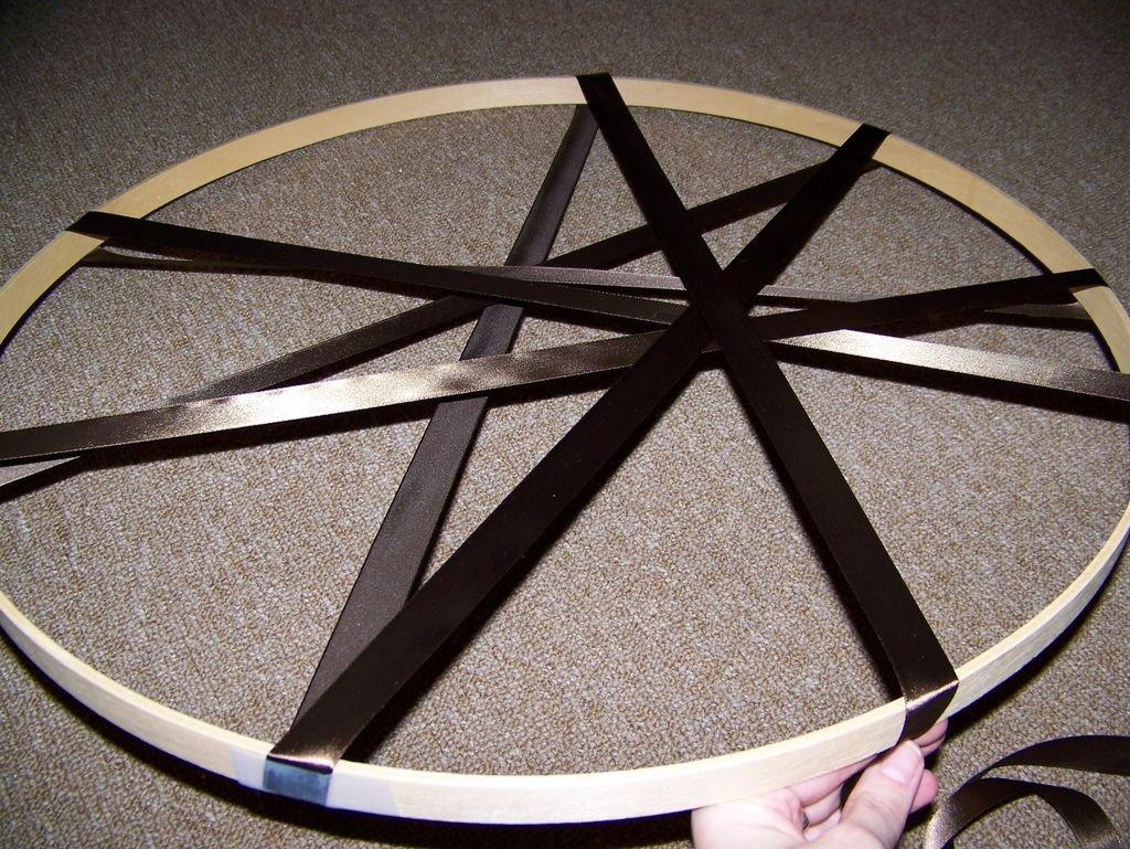 Абажур в форме барабана
