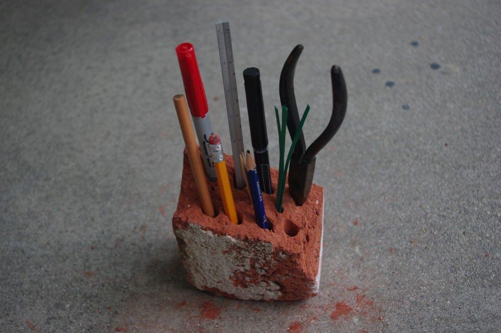 Подставка для ручек и карандашей своими руками