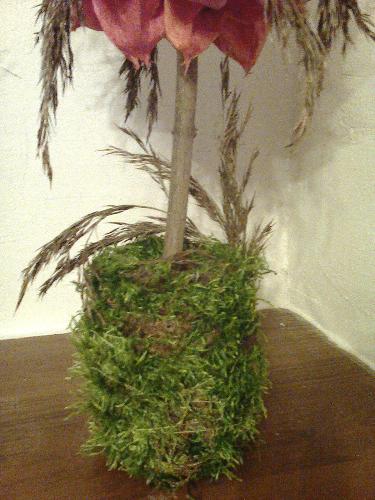 Деревце из физалиса
