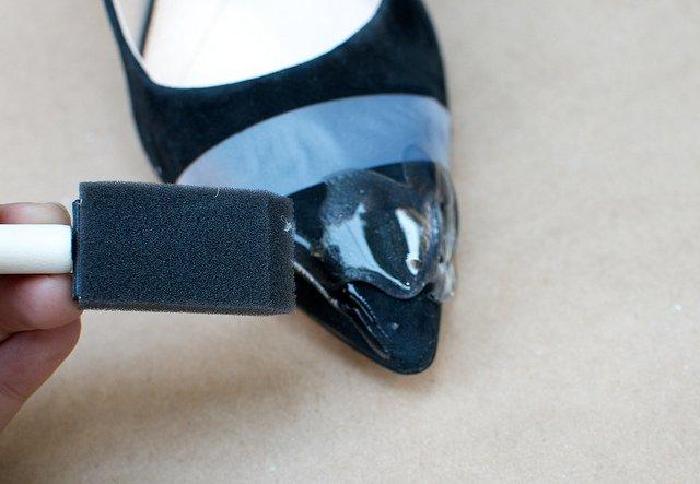 Красивые туфли-лодочки своими руками