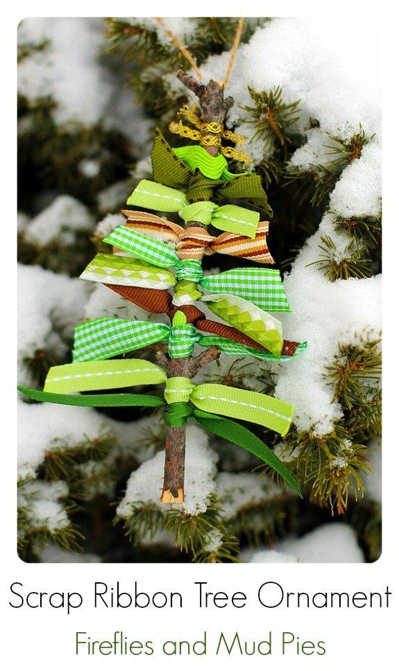 Красивое украшение для новогодней елки