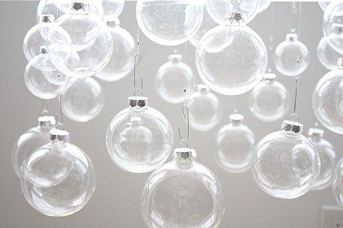 Елка из елочных шариков