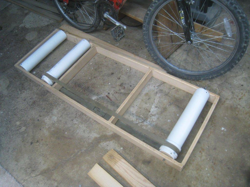 Роллерный станок для велосипеда своими руками