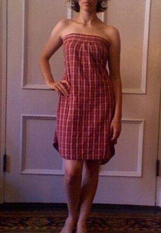 Как сшить платье из рубашки