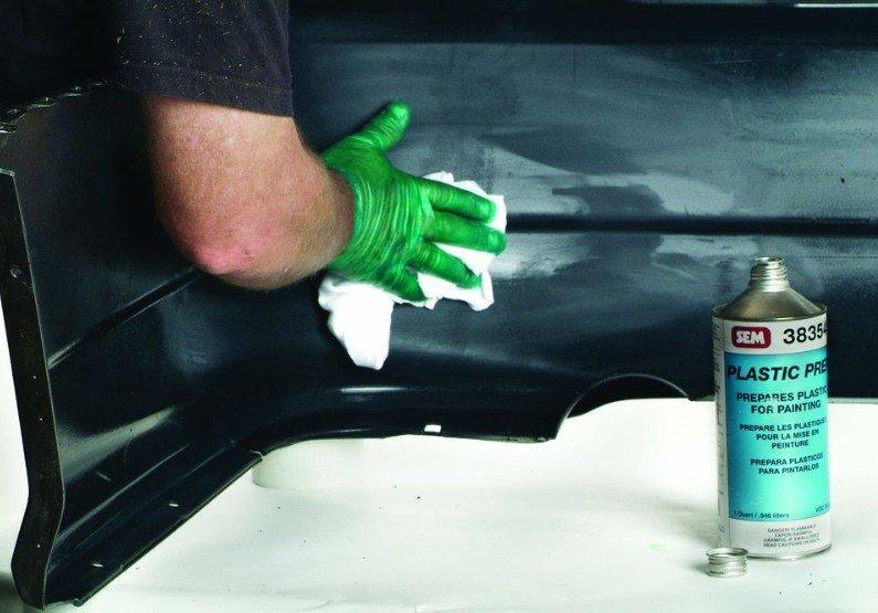 Как избавиться от вмятины на бампере