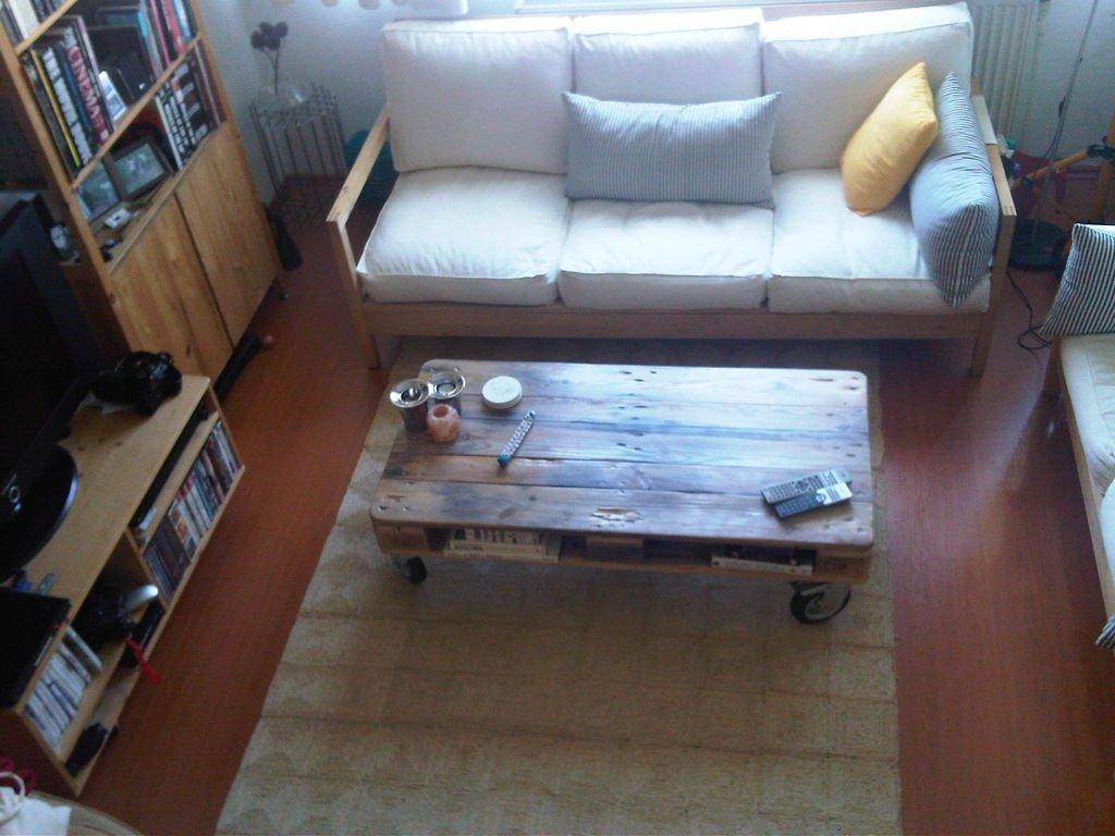 Кофейный столик из палета