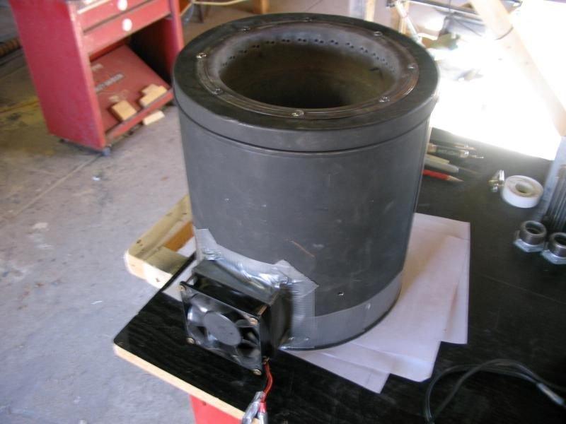 Печь на древесном газе своими руками