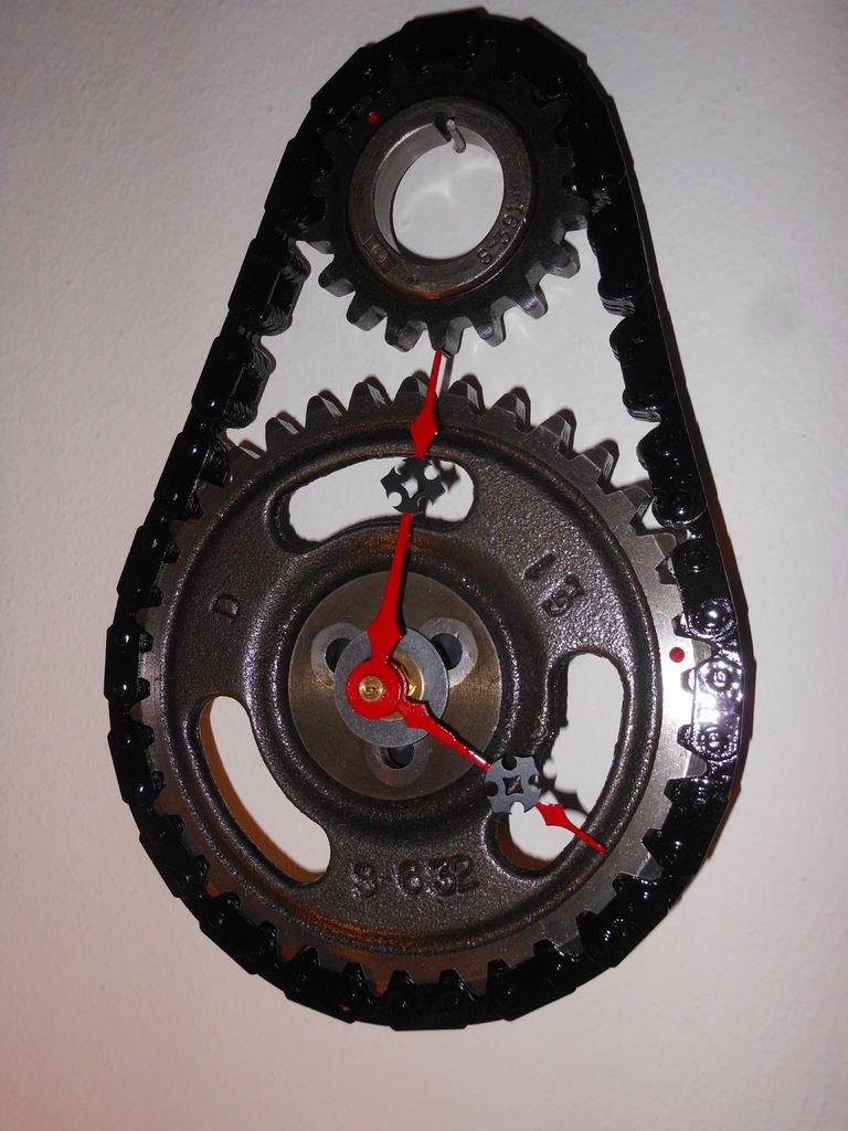Дизайнерские часы своими руками