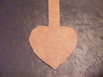 Брелок на День святого Валентина