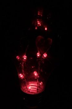 Лампа на День святого Валентина