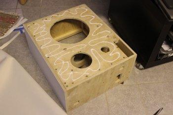 Переносной корпус для колонок своими руками