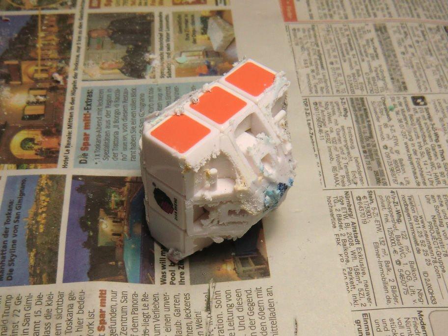 Округлый Кубик Рубика