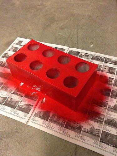 Полка для специй в стиле LEGO