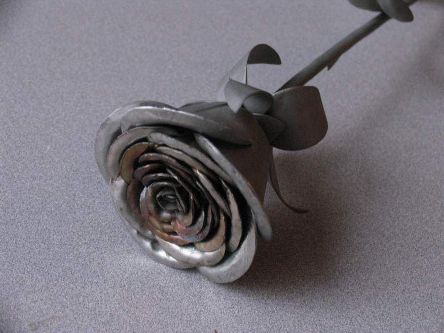 Стальная роза своими руками