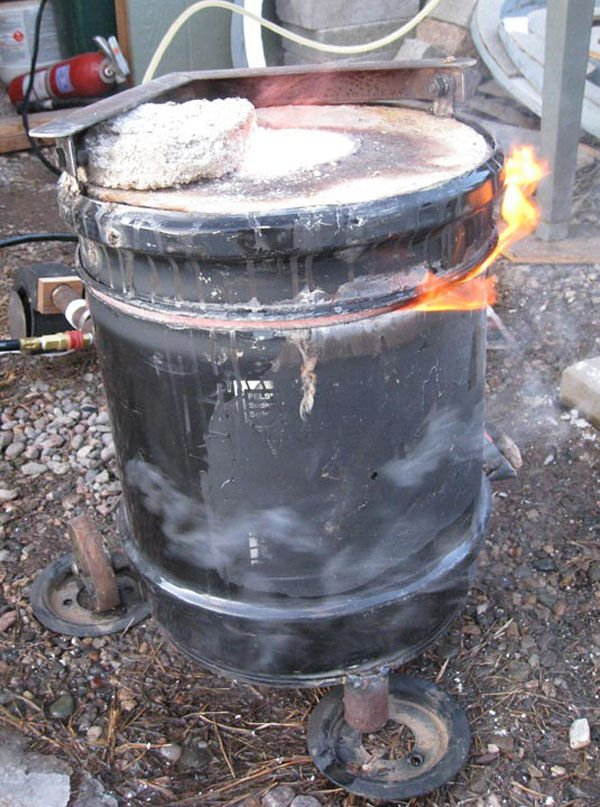 Топливная печь своими руками