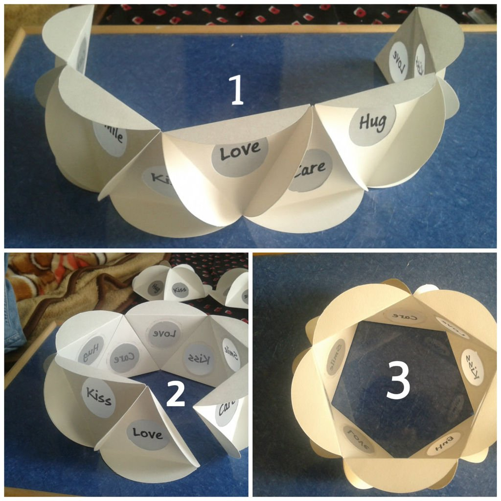 Бумажный декоративный светильник