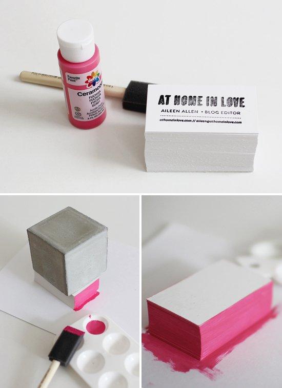 Как сделать визитку
