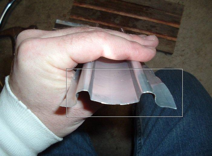 Черепица из алюминиевых банок