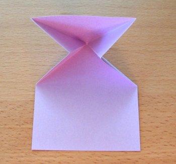 Оригами заяц