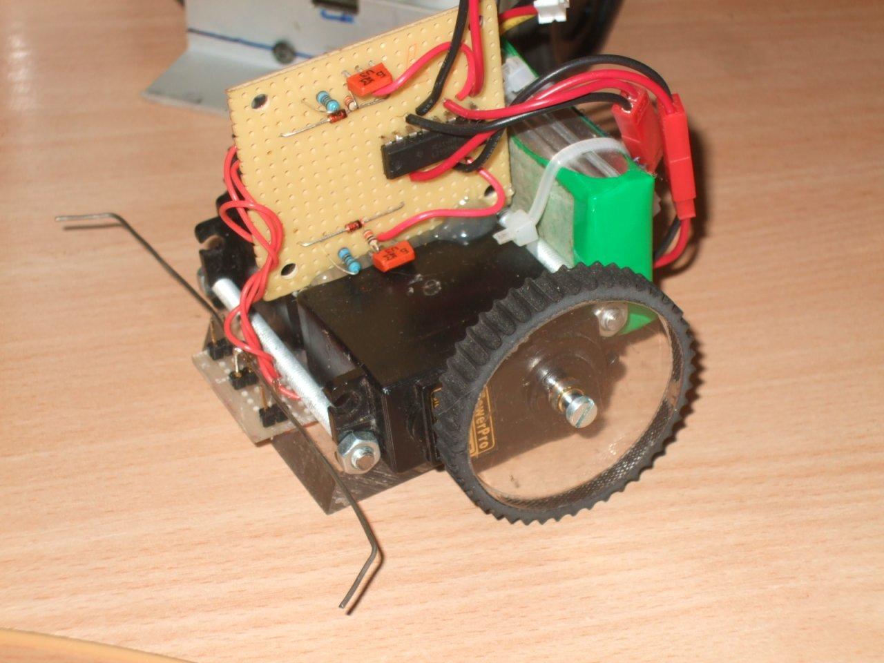Наипростейший робот своими руками