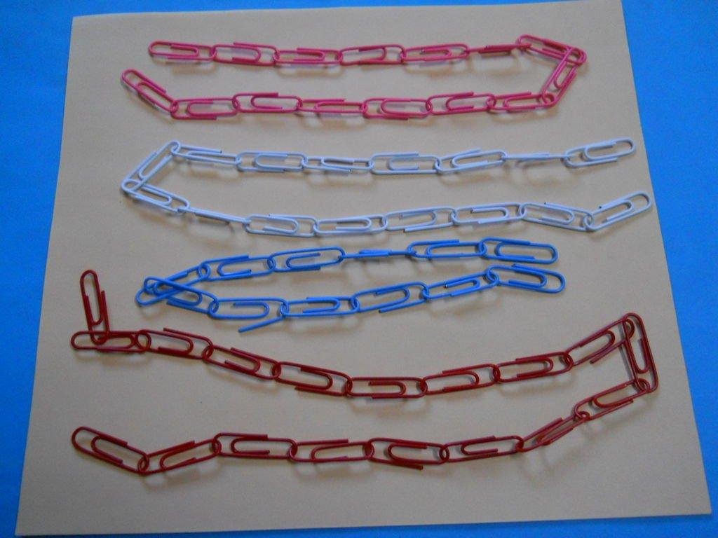 Ожерелье из скрепок своими руками