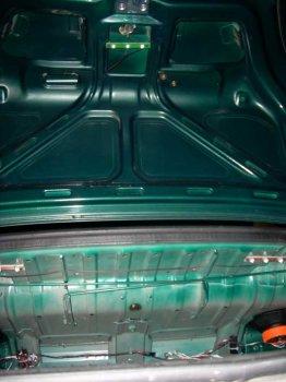 Подсветка багажника