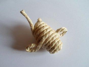 Игрушка для кота своими руками