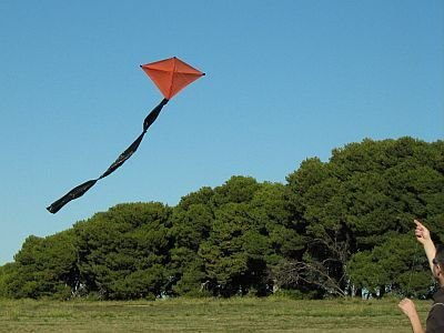 Как сделать воздушного змея