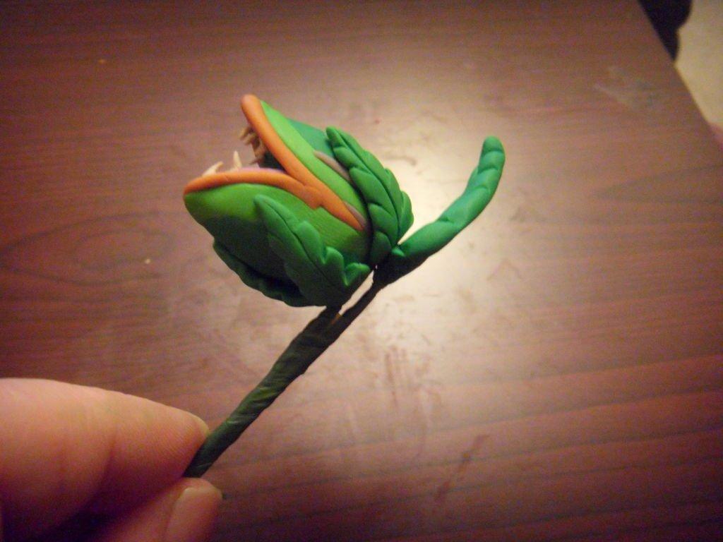 Цветы-монстры из полимерной глины