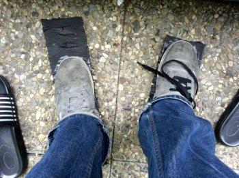 Резиновая подошва для кроссовок из старой покрышки