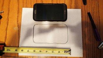 Простой держатель смартфона своими руками