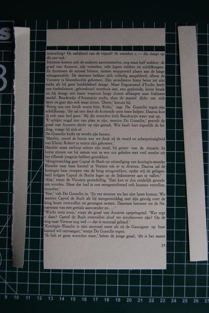 Самодельный бумажный браслет