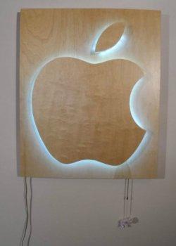 Светящийся логотип своими руками