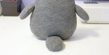 Мягкая игрушка Тоторо своими руками