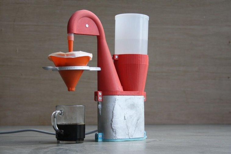 Электрическая кофемашина своими руками
