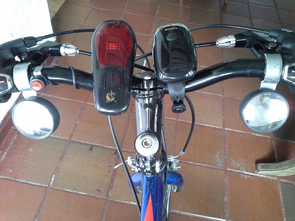 Установка дополнительных зеркал на велосипед