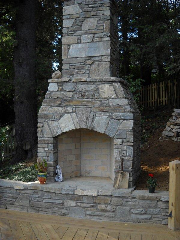 Уличный камин своими руками
