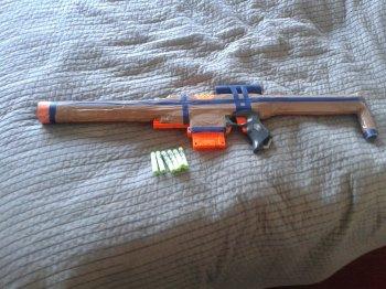 Игрушечное ружье своими руками