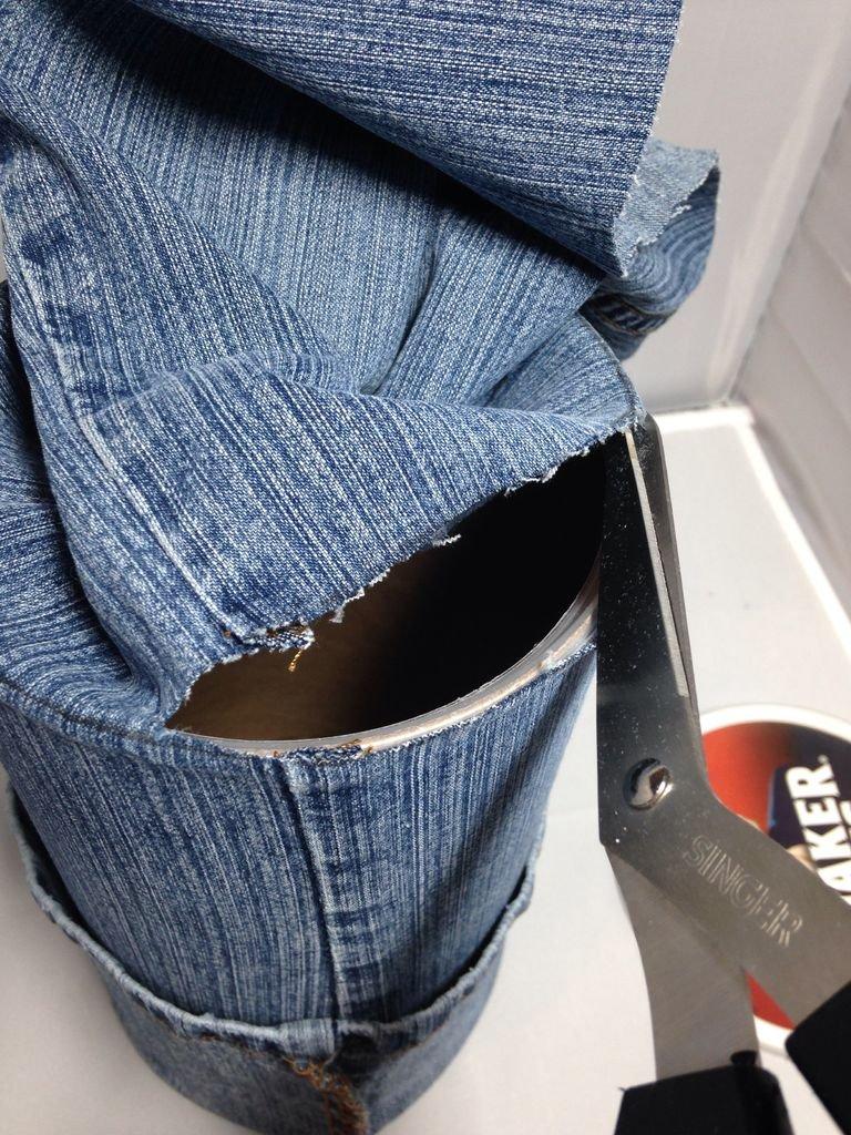 Органайзер из джинсов своими руками