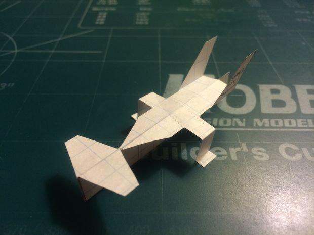 Как сделать бумажный самолетик