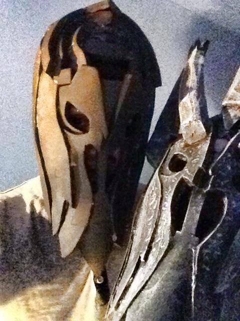 Шлем Саурона своими руками